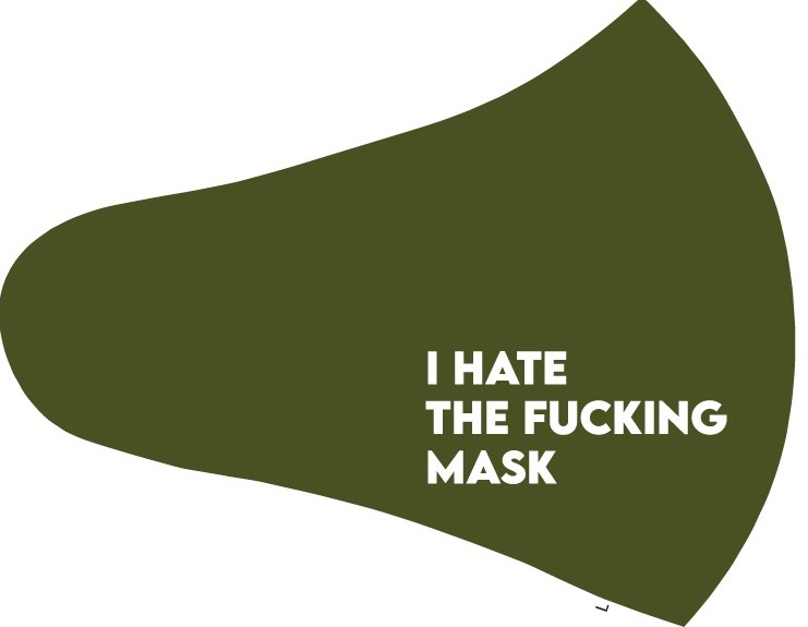 THE FU**ING MASK GREEN